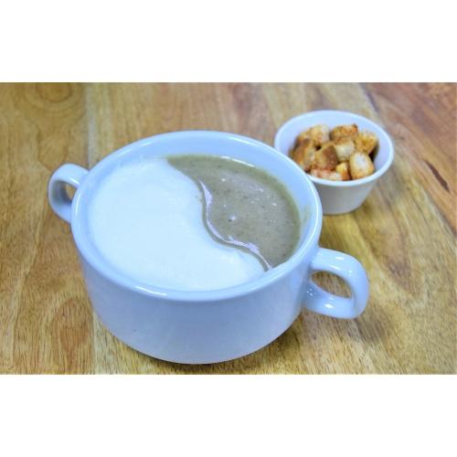 Суп-пюре из свежих шампиньонов