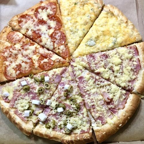Комбо пицца для веселой компании